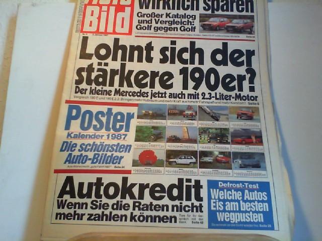 Auto Bild. 05.01.1987. Nr. 2