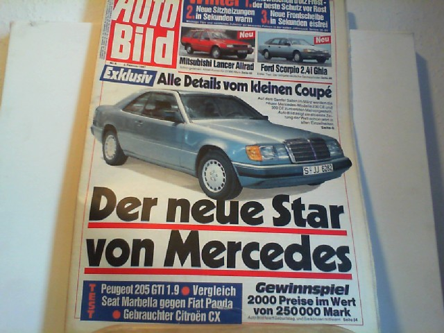 Auto Bild. 02.02.1987. Nr.6.