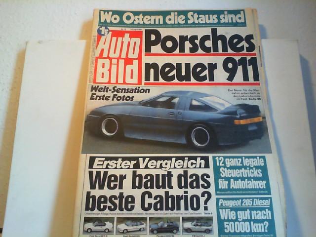 Auto Bild. 13.04.1987. Nr.16.