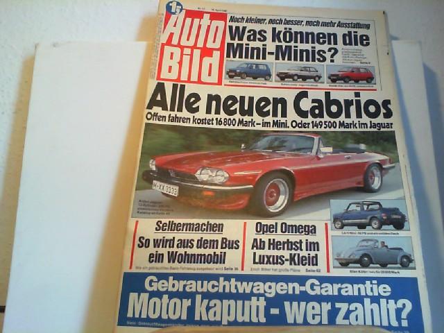 Auto Bild. 18.04.1987. Nr.17.