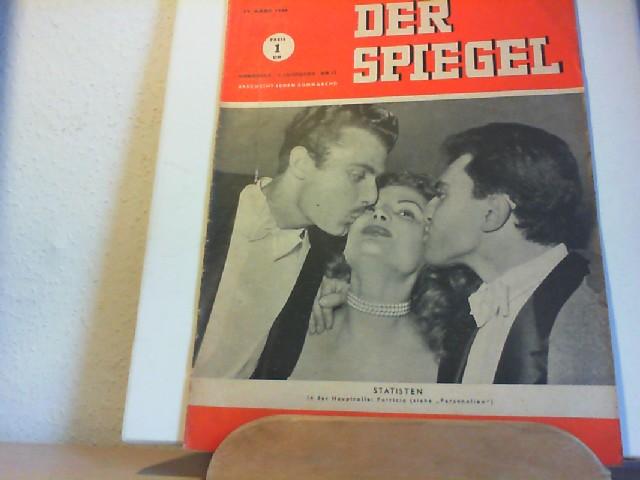 Der Spiegel. 19.03.1949. 3. Jahrgang. Nr. 12. Das deutsche Nachrichtenmagazin. Titelgeschichte: Statisten. In der Hauptrolle: Patricia.