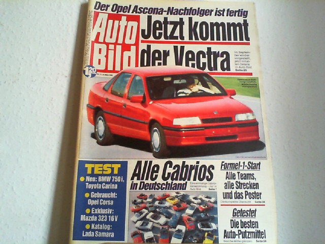 Auto Bild. 28.03.1988. Nr.13.