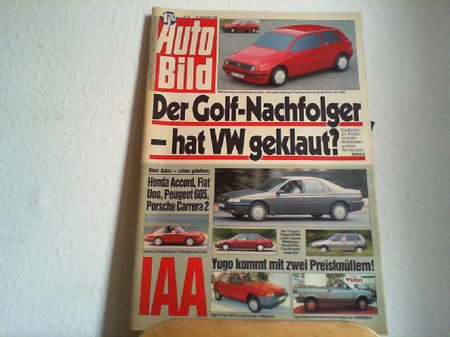 Auto Bild. 18.09.1989. Nr.38.