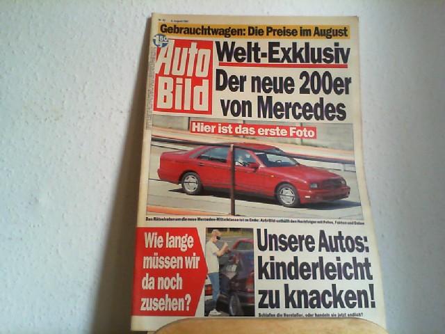 Auto Bild.  03.08.1992. Nr.32.