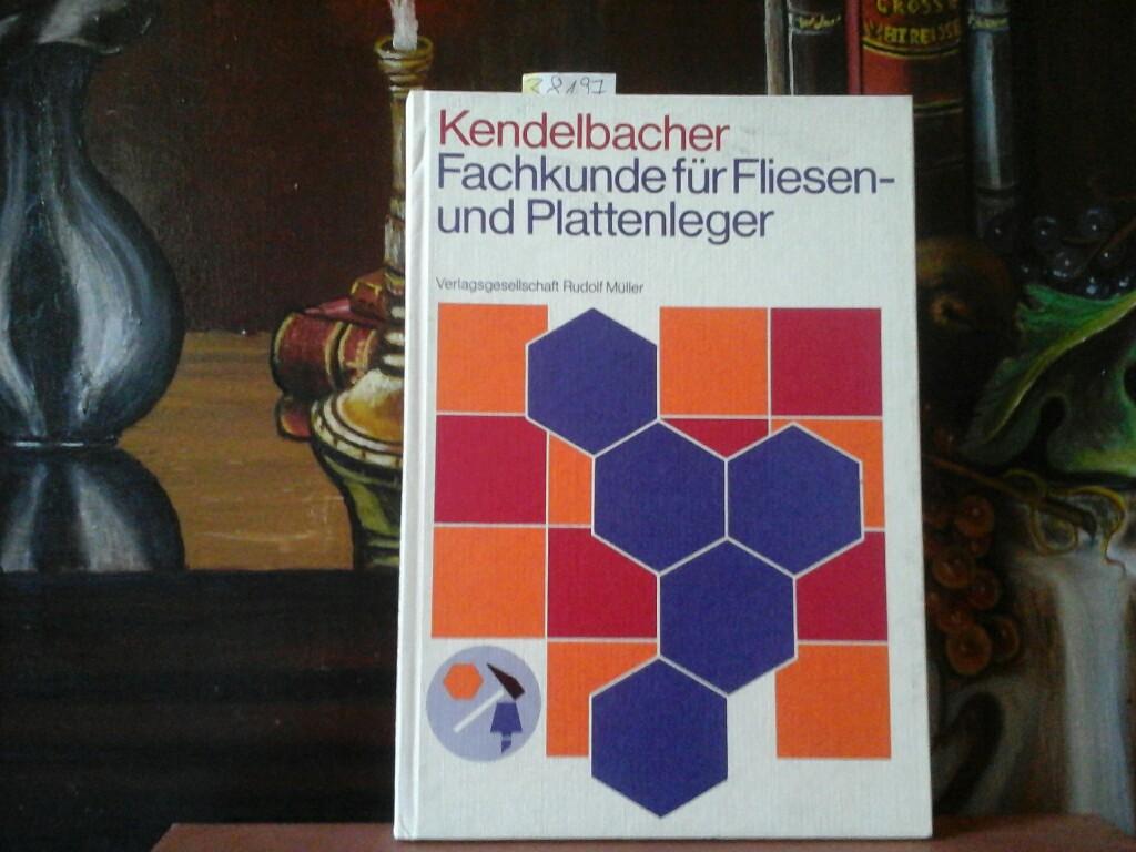 Fachkunde für Fliesen- und Plattenleger mit Frage und Antwort. 5., erweiterte Auflage.