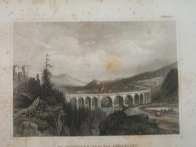 Die Eisenbahn über den Semmering Österreich.