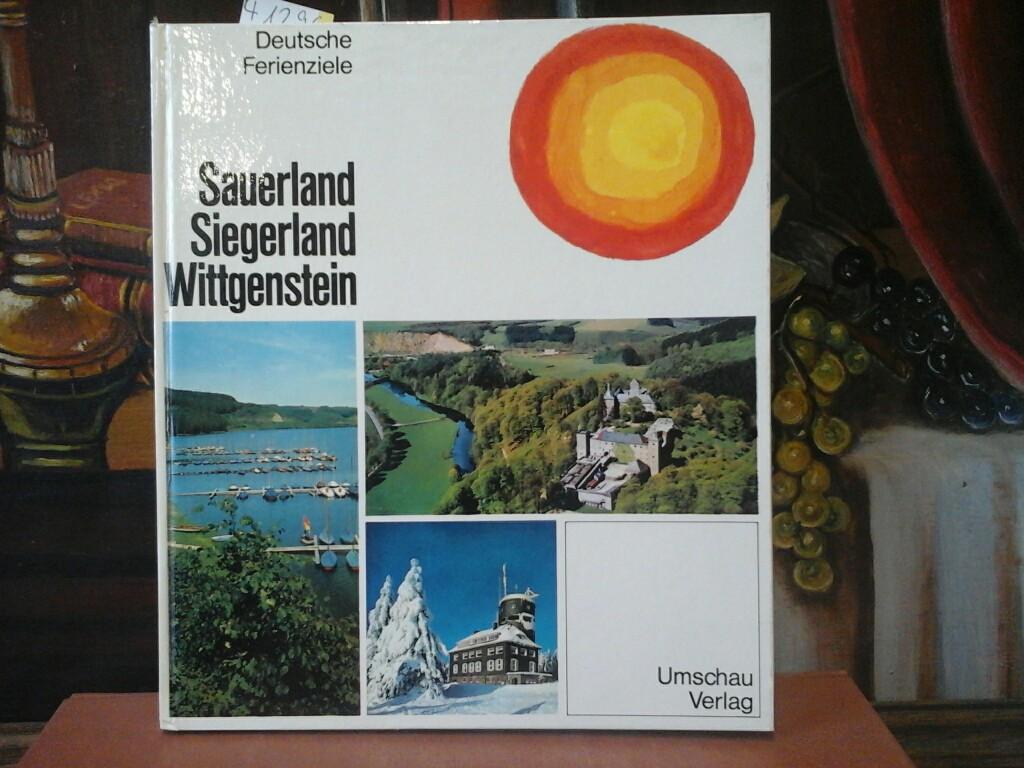 Sauerland, Siegerland, Wittgenstein. 73 Fotos.