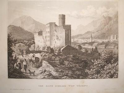 Das alte Schloss von Trient.