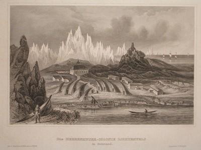 Die Herrenhuter-Colonie Lichtenfels in Grönland.