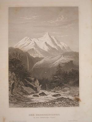 Der Grossglockner in den Salzburger Alpen.