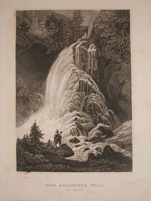 Der Gollinger Fall in Tyrol.