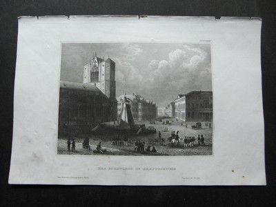 Der Burgplatz in Braunschweig.
