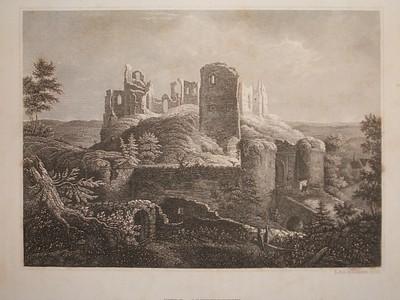 Burg Altenstein in Franken.