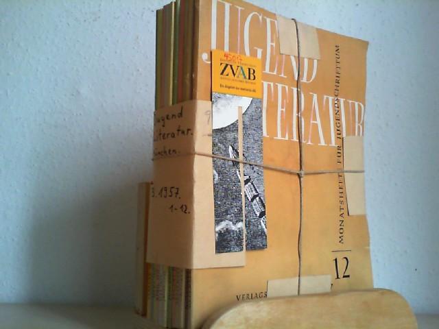 Jugendliteratur. Monatshefte für Jugendschrifttum. Hrsg. von Richard Bamberger. 1957 / 3. Jahrgang. Heft 1-12. (= Alles)