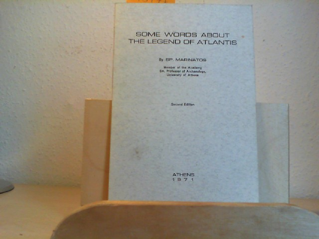 Some words about the legend of Atlantis. Second Edition.