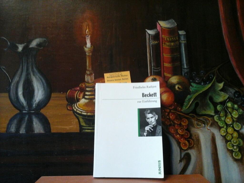 Beckett zur Einführung.