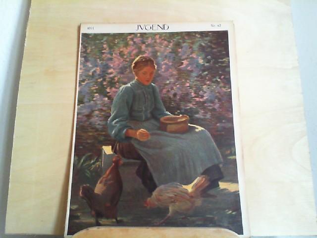 JUGEND. 10.10.1911. Nr. 42. Münchner illustrierte Wochenschrift für Kunst und Leben. Begründet von Dr. Georg Hirth.