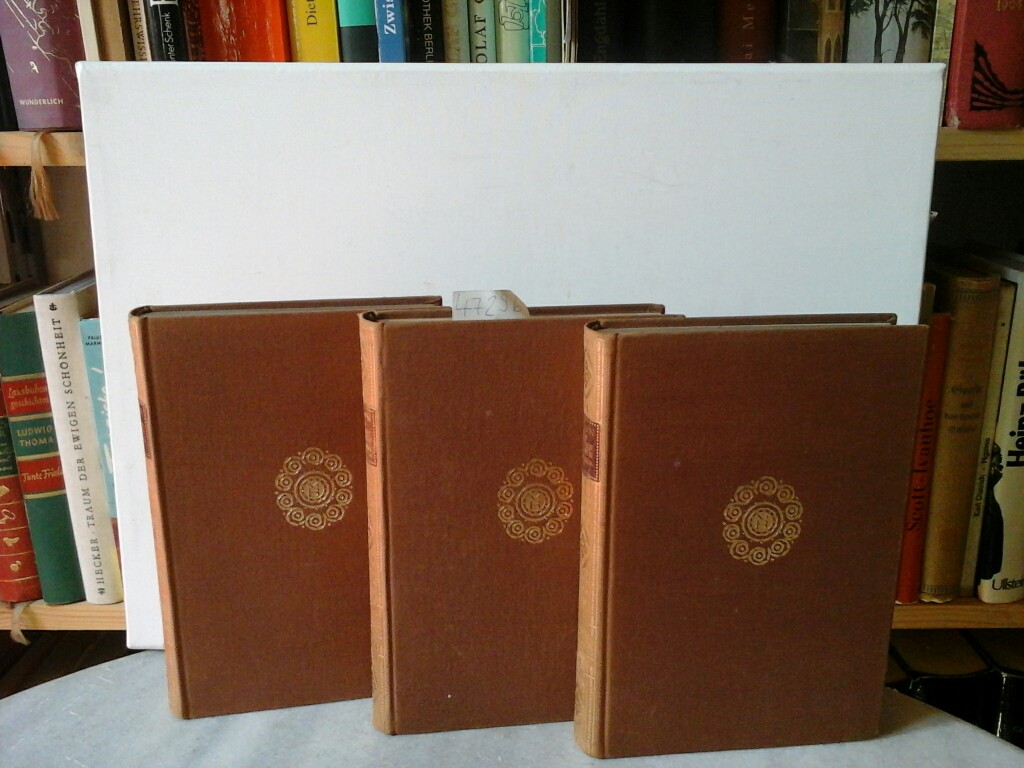 ROSEN, ERWIN: Der Deutsche Lausbub in Amerika. Erinnerungen und Eindrücke von Erwin Rosen. Erster bis dritter Teil. Elfte Auflage / Vierzehnte Auflage / Vierzehnte Auflage.