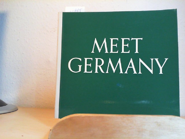 Meet Germany. Eight /8./ revised Edition.