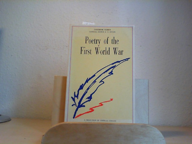 Poetry of the First World War. 3rd // Third Edition.