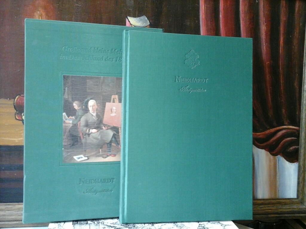 Große und kleine Meister im Deutschland des 18. Jh. Gemälde-Verkaufsausstellung vom 1. Juli - 31. Juli 1994. Neidhardt Antiquitäten.