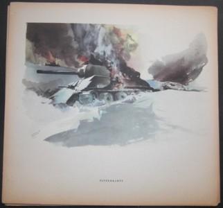 SCHNEIDER, HERMANN: Kriegsbild aus Russland in Farbe. Zweiter /2./ Weltkrieg
