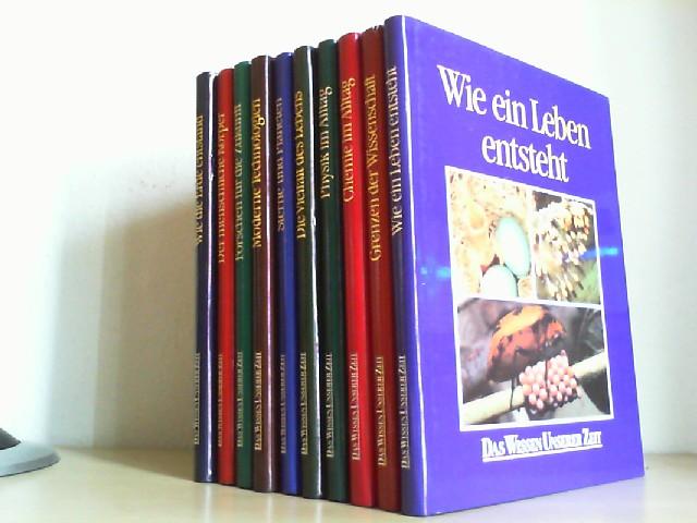 CLARK, LAWRENCE (Hrsg.): Das Wissen unserer Zeit. 1 - 10. Band. (= Wie die Erde entstand. // Moderne Technologien. // Chemie im Alltag. // Die Vielfalt des Lebens. // Sterne und Planeten. // Wie ein Leben entsteht. // Physik im Alltag. // Grenzen der Wissenschaft. // Forschen für die Zukunft. // Der menschliche Körper.) Erste /1./ Ausgabe.