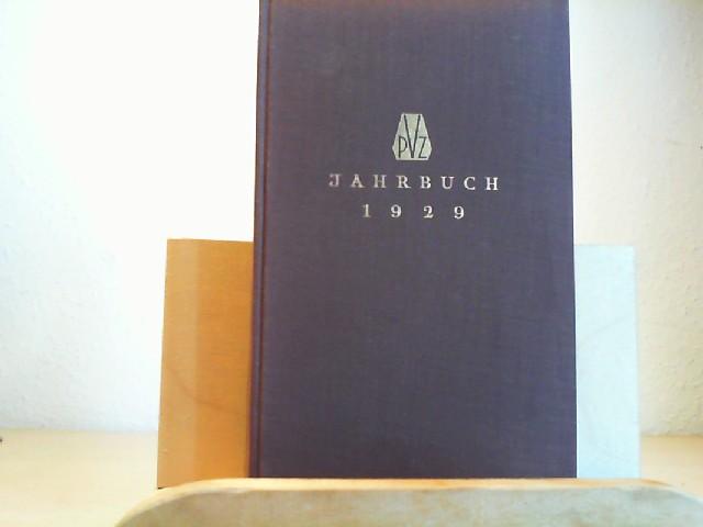 Jahrbuch. Paul Zsolnay Verlag 1929. (= IV. Jahrgang) Mit einem Kupfertiefdruck nach einer Or.-Radierung von Max Liebermann und drei Federzeichnugen von A.Kubin. Erste Ausgabe. 1.-10.Tausend.