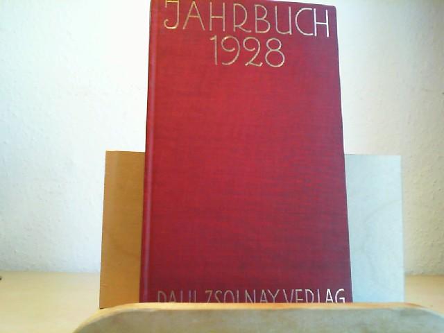 Jahrbuch. Paul Zsolnay Verlag 1928. (=Jg.III) Mit 1 Or.-Lithographie von Hans Strohofer, einer Farbtafel und zwei Doppeltonbildern. (1.-10.Tausend.)