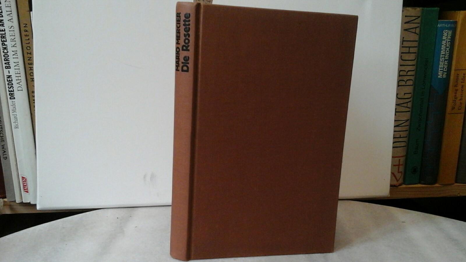 """Die Rosette. """"Journal de Jeanne"""". Erste /1./ Ausgabe."""