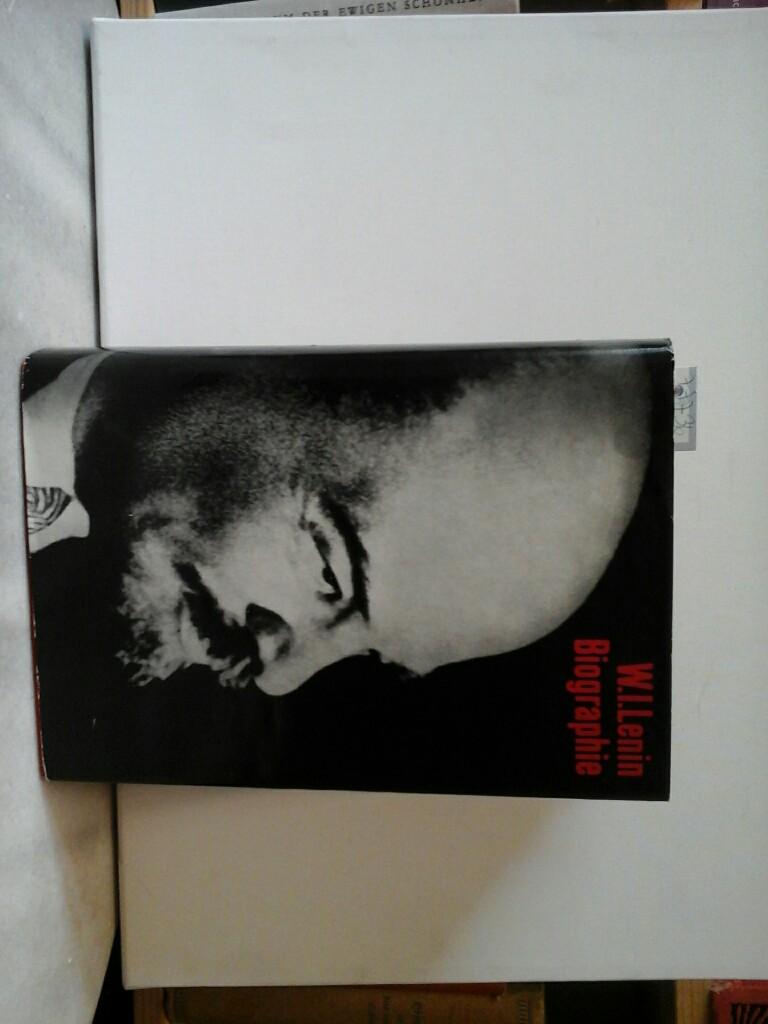 W.I.Lenin. Biographie. Erste /1./ Ausgabe.