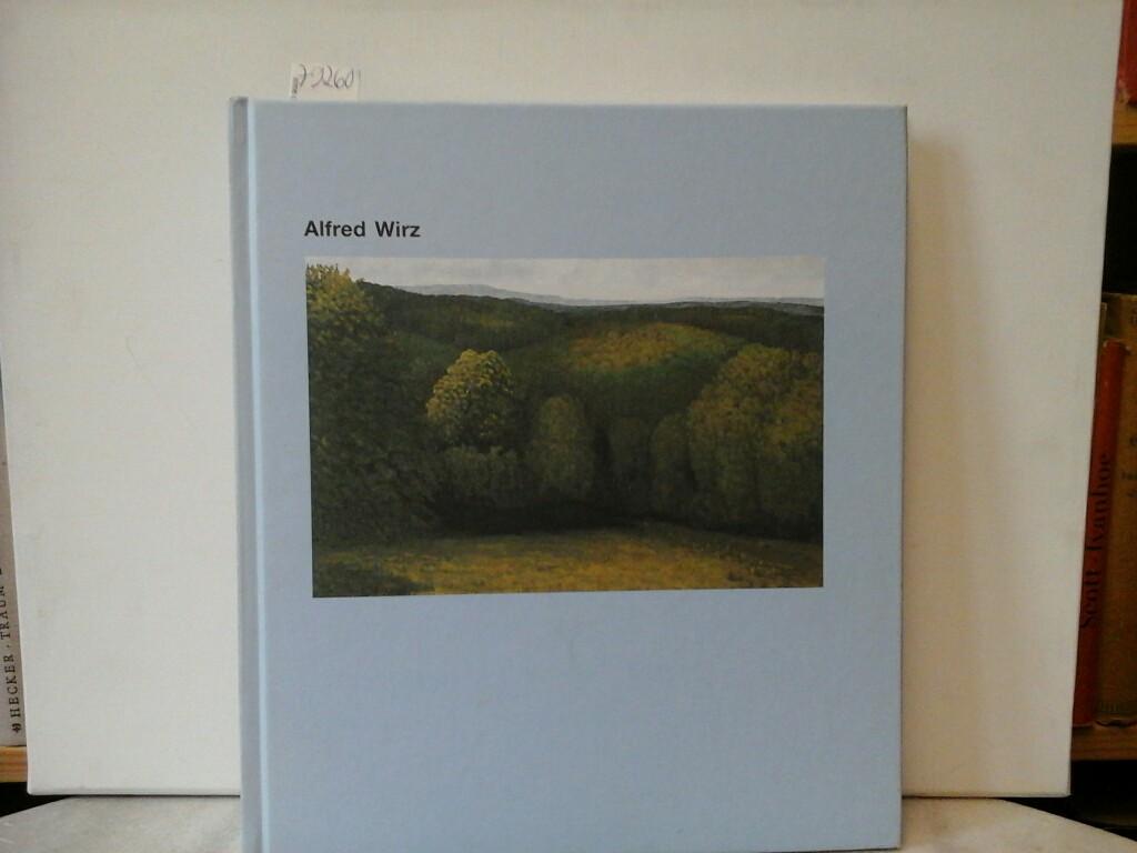 """Alfred Wirz. [Ausstellungskatalog]. Erscheint im Rahmen der Ausstellung """"Alfred Wirz"""" im Kunstmuseum Olten, 1. April - 7. Mai 1995. Erste/1./ Auflage."""