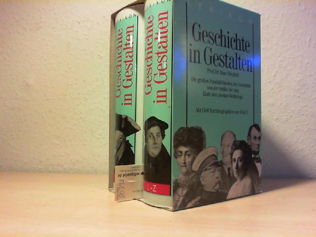 Geschichte in Gestalten. 2 Bände. Die großen Persönlichkeiten der Geschichte von der Antike bis zum Ende des zweiten Weltkriegs. Lizenzausgabe.
