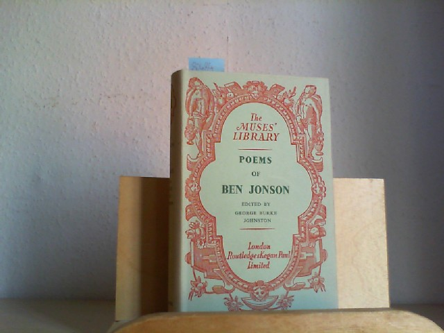 Poems of Ben Jonson.
