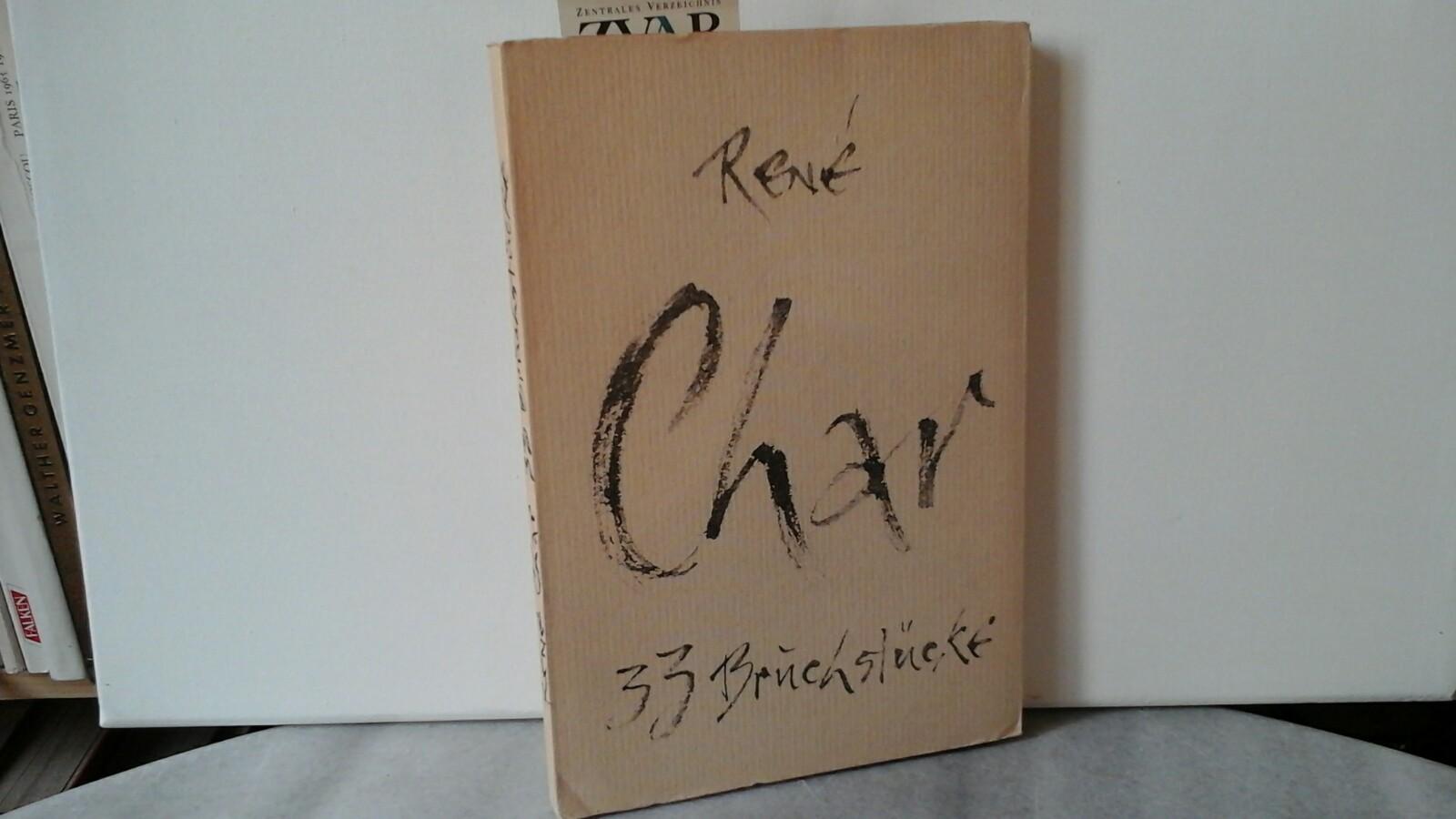 En trente-trois morceaux / 33 Bruchstücke. Schrift und Linolschnitte von Flora Klee-Palyi.Kunst
