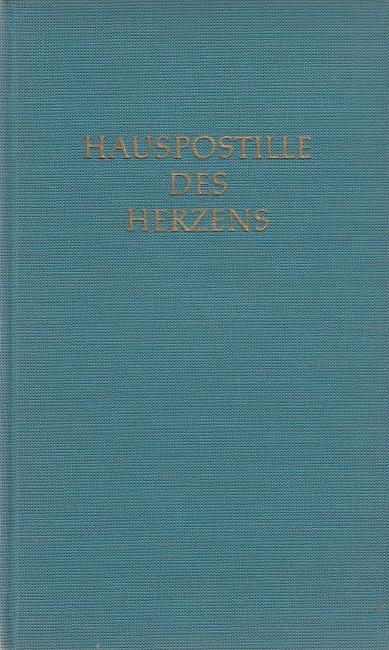 Hauspostille des Herzens 2. Auflage