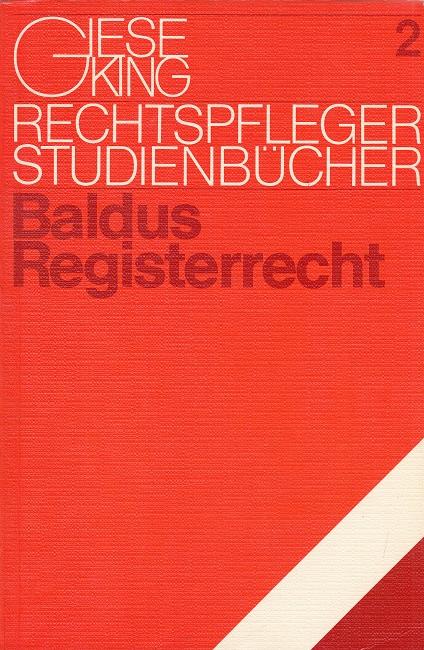 Registerrecht