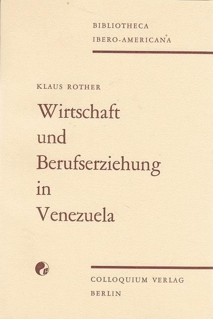 Wirtschaft und Berufserziehung in Venezuela.