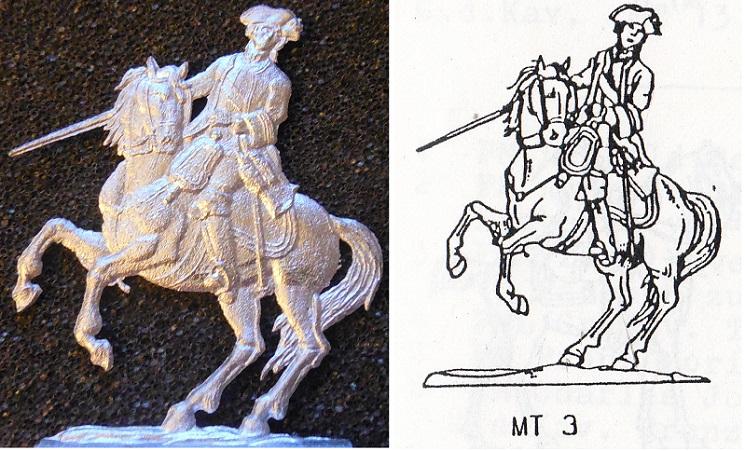 Leopold Joseph von Daun  Die Generalität Maria Theresias  Fohler Zinnfigur 30 mm