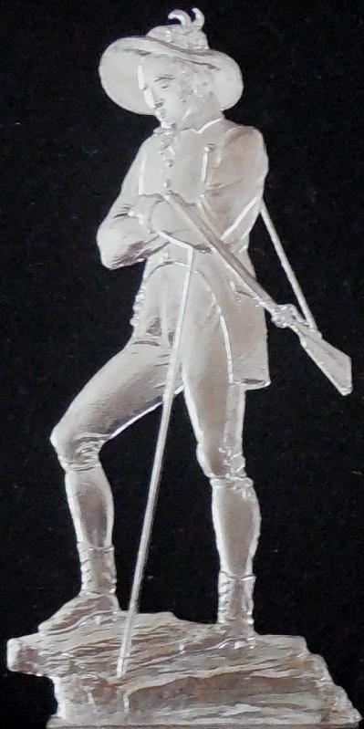 Erzherzog Johann von Österreich ca. 1820 - Jagd - Zinnfigur 90mm - blank