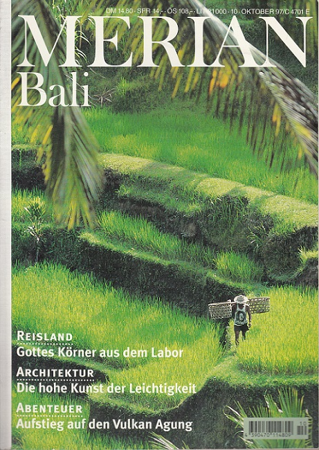 Bali - Merian Heft 10/1997 - 50. Jahrgang