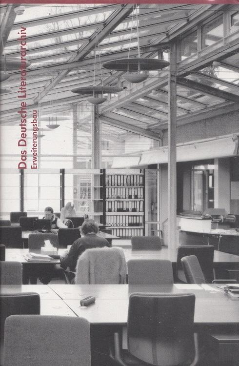 Das Deutsche Literaturarchiv, Erweiterungsbau. [Deutsches Literaturarchiv. Zeichn.: Wolfgang Lauber. Fotogr.: Christian Kandzia]