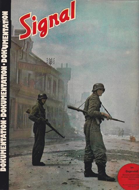 Signal 1943/44 - Band 4 - eine kommentierte Auswahl abgeschlossener völlig unveränderter Beiträge aus der Propaganda-Zeitschrift der Deutschen Wehrmacht