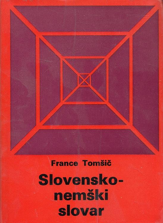 Slovensko-nemski slovar = Slowenisch-Deutsches Wörterbuch. Slovarji DZS
