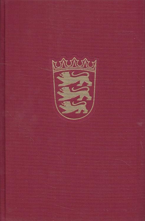 Das Land Baden-Württemberg Band II Nordwürttemberg Teil 1 - Amtliche Beschreibung nach Kreisen und Gemeinden