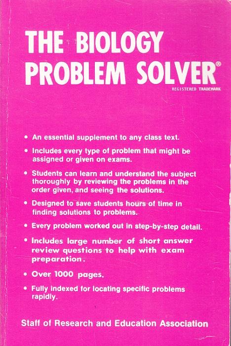 The Biology Problem Solver (Rea