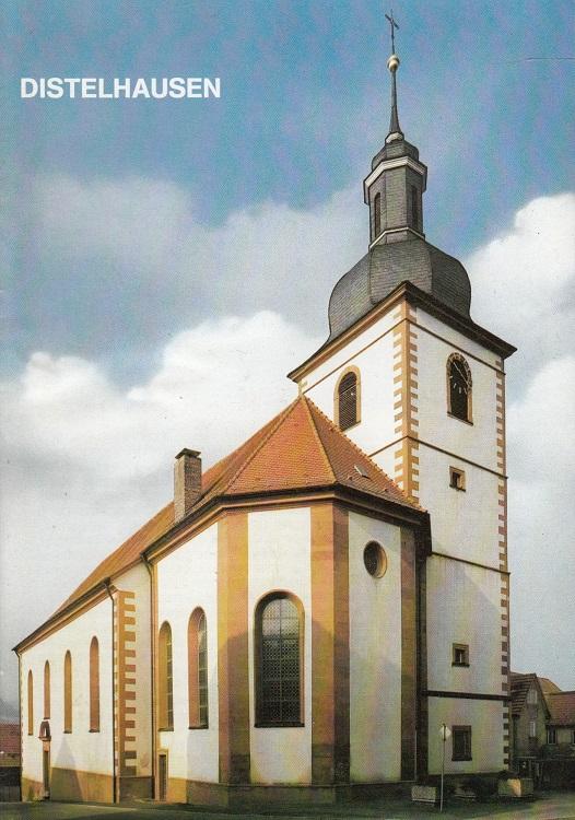 Die Pfarrkirche Sankt Markus in Distelhausen : (Patrozinium 25. April) ; Main-Tauber-Kreis, Erzbistum Freiburg i. Br. / Kleine Kunstführer ; Nr. 1255 1. Aufl.