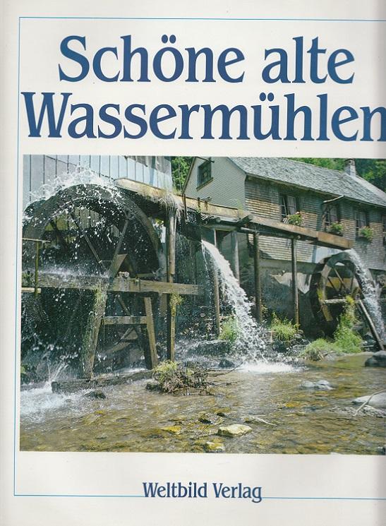 Schöne alte Wassermühlen