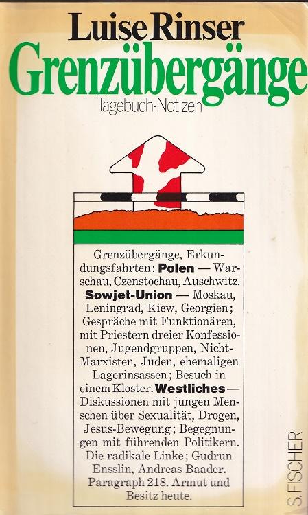 Rinser, Luise: Grenzübergänge : Tagebuch-Notizen.