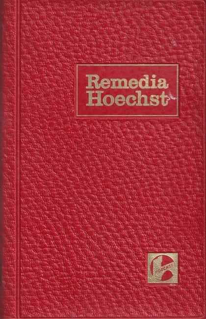 Remedia Hoechst - Ärztetaschenbuch 1971 / 72.